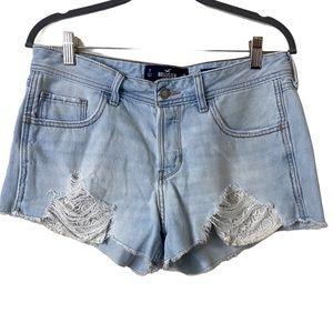 Hollister Low Rise Boyfriend Lace Pocket Short  7